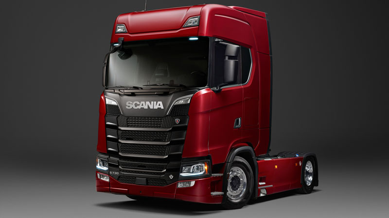 Scania Truck Rot